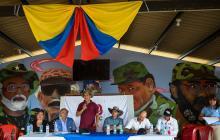 Este año el gobierno logró el desarme de unos 7.000 combatientes de las Farc.