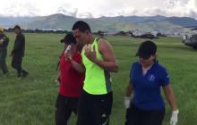 Seis miembros de la Fuerza Pública resultan heridos en manifestación de indígenas