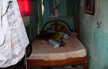 En este cuarto fue hallada sin vida Millys Judith Escorcia De la Hoz .