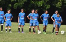 La sub-20 femenina de fútbol va por el oro en los Bolivarianos
