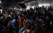 Independentistas catalanes realizaron bloqueos