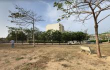 Reparan alumbrado público del parque José Prudencio Padilla
