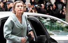Presidenta del Parlamento catalán, a prisión hasta que pague fianza