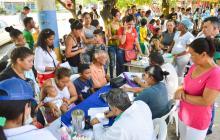 Jornada preventiva de salud atiende a 135 venezolanos en Soledad