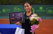 María Fernanda Herazo, tenista barranquillera.