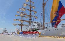 El Buque ARC 'Gloria' visitará Barranquilla la próxima semana