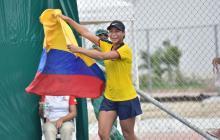 María Fernanda Herazo saca su casta y se cubre de oro