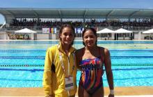 Carolina Murillo y Daniela Zapata, un dúo sincronizado y dorado