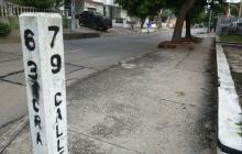 Lugar donde asesinaron a Angello Alzamora.