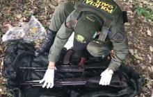Hallan fúsiles y municiones enterrados en zona rural de El Carmen de Bolívar