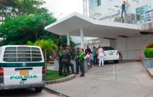La niña fue trasladada al hospital de Bocagrande a donde llegó sin signos vitales.