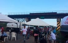 La Guajira completa tres días de bloqueos en las vías