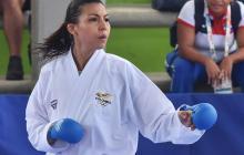 Stella Urango y una vida dorada en el karate