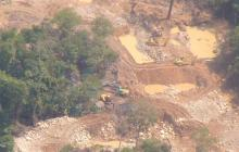 32 personas han sido capturadas en Bolívar por ejercer minería ilegal