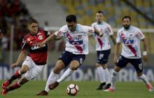 Así registra El Heraldo el encuentro entre el Junior vs. Flamengo