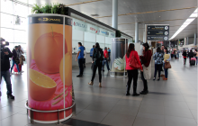 El Aeropuerto El Dorado se ha convertido en una galería de arte.