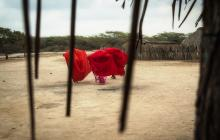 La cultura wayuu en una de sus rancherías en La Guajira.