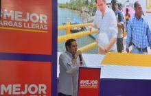 Germán Vargas Lleras durante la presentación de su propuesta de política pública sobre infraestructura.