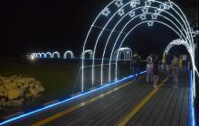Muelle turístico de Riohacha