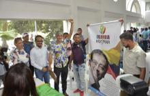 Cristóbal Padilla se inscribe al Senado por la 'Lista de la Decencia'