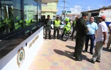 Alcaldía entrega CAI en el barrio San Roque