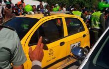 Asesinan a taxista en el sur de Santa Marta