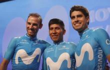 Con Quintana, Landa y Valverde, el equipo Movistar se alista para el Tour de Francia