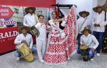 Los reyes infantiles del Carnaval de la 44, Laura Ospino y Samuel Quintero.