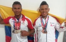 Kevin Sandoval y Misael Ramírez se destacan en levantamiento de pesas