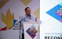 Efraín Cepeda, presidente del Congreso y organizador del evento.