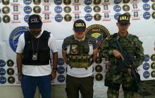 El comerciante liberado por el Gaula Militar Caribe.