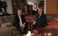 Uribe y Pastrana acuerdan fecha para definir mecanismo de elección del candidato de coalición