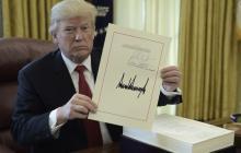 La reforma fiscal, primer gran logro legislativo de Trump