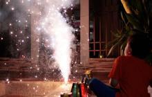 Van 378 personas lesionadas con pólvora en la temporada decembrina