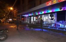 Fachada de la discoteca donde ocurrió la explosión.