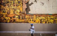 'Volar', fábrica de sueños que embellece la calle 40