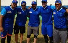 Nabil Crismatt, Luis Sierra, Sandy León, José Quintana y Adrián Sánchez.