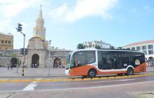 Por falta de placas, buses de Transcaribe no llegan a Cartagena