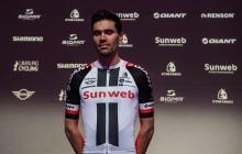 El ciclista holandés Tom Dumoulin.