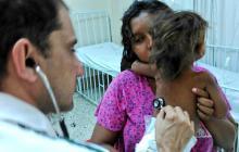 La madre de la menor decidió llevarla por el grave estado de salud que presentaba.