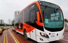 Próxima semana llegan seis buses de Transcaribe
