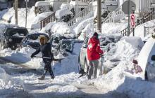 Frío ártico sigue congelando el este de EEUU y Canadá