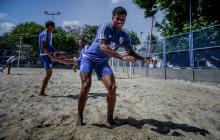 El fútbol playa de Asefal tiene a su Yerry Mina
