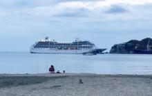 Primer crucero que arriba este año a Santa Marta trae 612 turistas