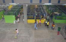 Espacios del interior del nuevo mercado de Ciénaga.
