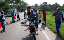 Dos muertos deja accidente de tránsito en La Cordialidad, a la altura de Sabanalarga