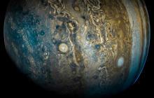 La NASA publica asombrosas imágenes del planeta Júpiter