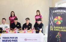El Garabato de Emiliano izará la bandera en honor a Pernett