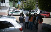 Fleteo a las afueras de clínica en el norte de Barranquilla termina en balacera