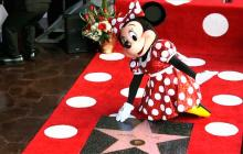 Minnie ya tiene estrella en Hollywood